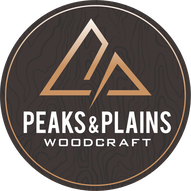 peaks & plains woodcraft logo windsor colorado
